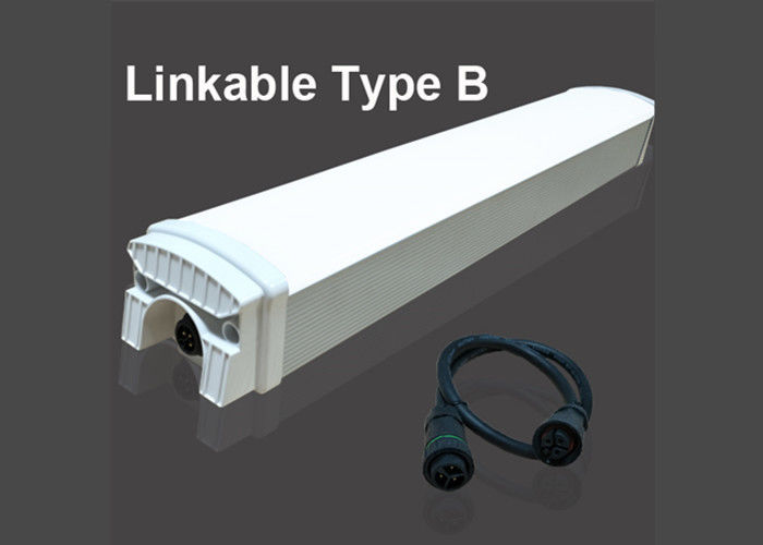 3000K 4 Foot T8 Led Tube Light 40W Energy Saving 20000 Hours Linkable Type B