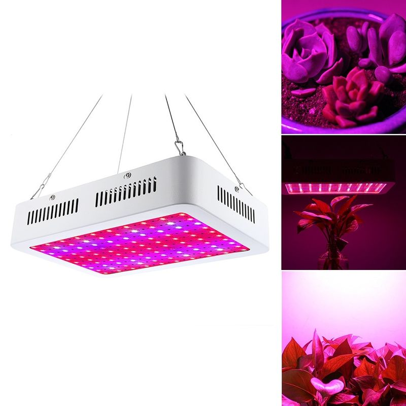80W 5950LM Indoor LED Grow Lamp 100 degree Beam Angle With Hanging Hook Steel String